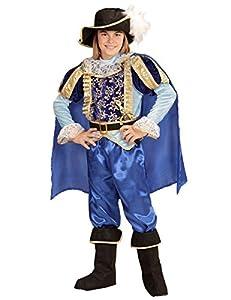 WIDMANN Disfraz príncipe encantador real niño 8-10 años (128-140)