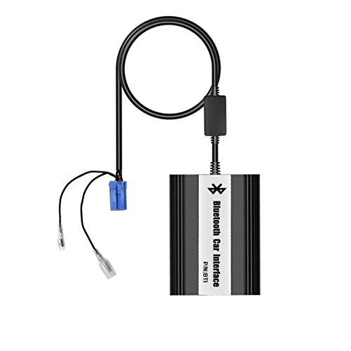 apps2car Renault 8Spilla Bluetooth Adattatore Auto Interfaccia Autoradio musicale tramite cambia CD vivavoce ricarica USB Port alle con microfono e telecomando per Avantime Clio Kangoo Master Modus VelSatis Megane Scenic Laguna Escape Traffic Twingo