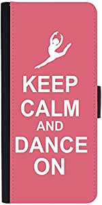 Snoogg Keep Calm And Dance On Designer Protective Flip Case Cover For Samsung...