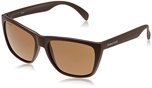 Fastrack Wayfarer Men Sunglasses (P230BR2|58.4|Brown)