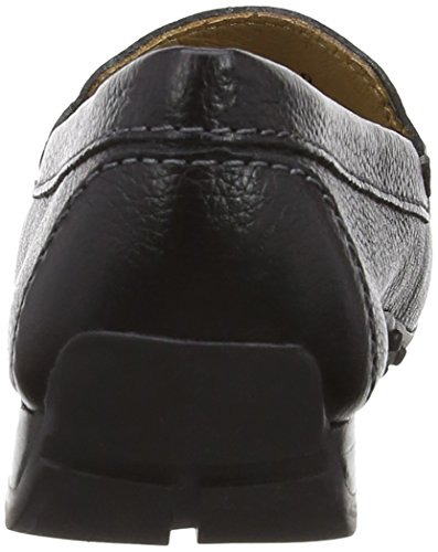 Van Dal Sanson, Mocassins femme Noir (Black Leather)