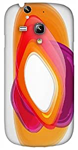 Timpax protective Armor Hard Bumper Back Case Cover. Multicolor printed on 3 Dimensional case with latest & finest graphic design art. Compatible with Samsung S-3Mini - I8190 Galaxy S III mini Design No : TDZ-24948