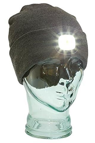 Beanie Hat mit Wiederaufladbare LED-Lichtern, Scheinwerfer Hat für Laufen, Angeln, Outdoor, Jagd, Arbeit–bright-i Beanie