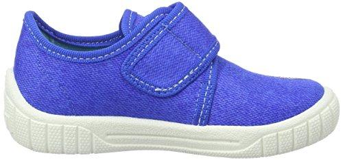 Superfit Bill, chaussons d'intérieur garçon Blau (bluet Kombi)