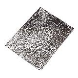 Glorex GmbH GLOREX Crackle Mosaic Platte, Glas, Spiegel, 15 x 0.4 x 20 cm
