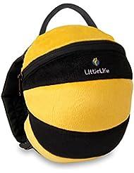 LittleLife Toddler Daysack Bee, kids rucksack with detachable reins!