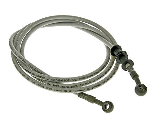 Bremsleitung Stahlflex für Scheibenbremse hinten für GY6 125/150ccm