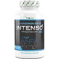 L-Arginin 4500 Intenso - 420 Kapseln - Hochdosiert mit 4500 mg reines L-Arginin pro Tagesportion - Laborgeprüft... preisvergleich bei fajdalomcsillapitas.eu