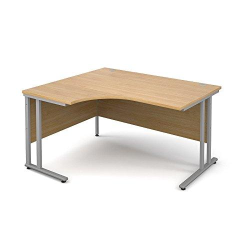 Best BIMI 1400mm Left Hand Ergonomic Corner Desk in Oak Reviews