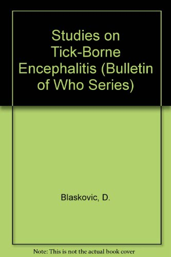 e Encephalitis (Bulletin of Who Series) ()