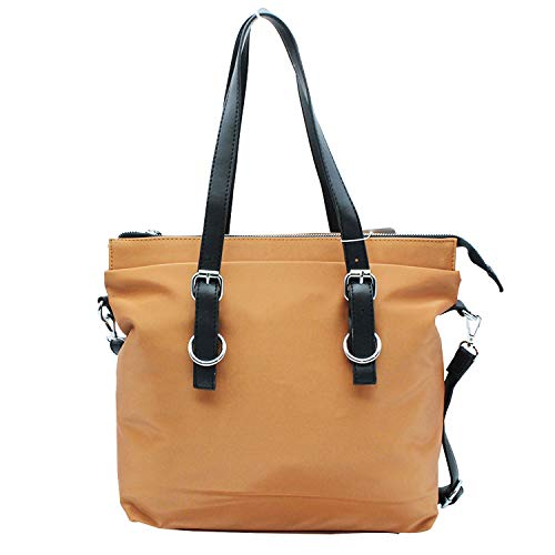 MISEMIYA - Borsa a Mano Donna Pochette e Clutch Borse a mano e a spalla mano borsa SR-J596(39 * 31 * 13cm) - Cammello