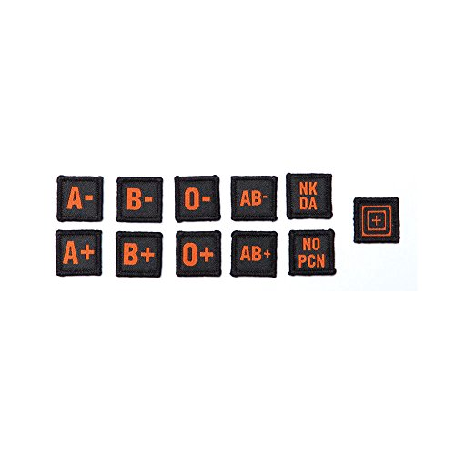 Blood Type Patch Kit - Blood Type Patches