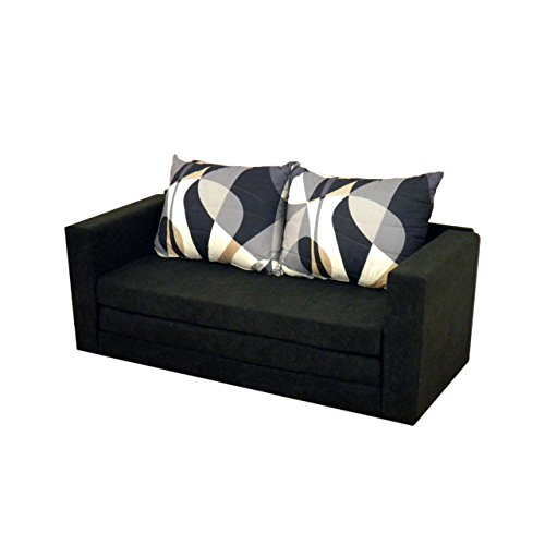 Mirjan24  Sofa Vanda mit Schlaffunktion, Schlafsofa Sofabett Couch, Schlafcouch, 2-er Bettsofa, Wohnlandschaft (Alova 04 + Vzur)