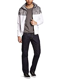 Wrung - bombster - manteau long - synthétique - homme
