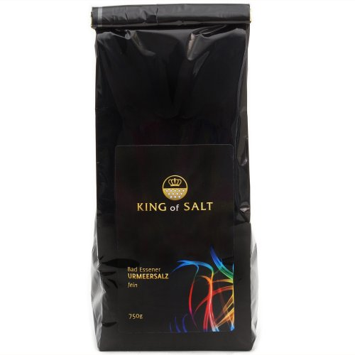 King of Salt Salz Fein 750 g, 1er Pack (1 x 750 g) Himalaya-meer-salz-bio