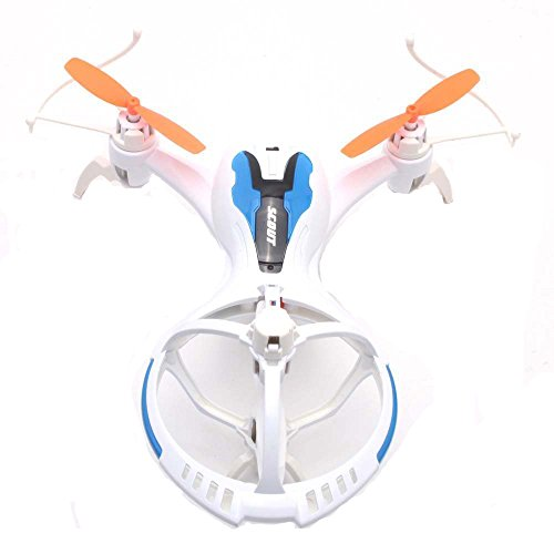 3D Roll RC Quadcopter, Koiiko M71 Spaceship Form 4CH four Channels Drone RTF Prepared-To-Fly R/C Plane 6-Axis Gyro Helicopter LED Lights for Night time Flying, Computerized Cruise, One Key 360 Diploma Eversion
