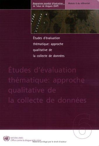 Etudes D Evaluation Thematique: Approche...