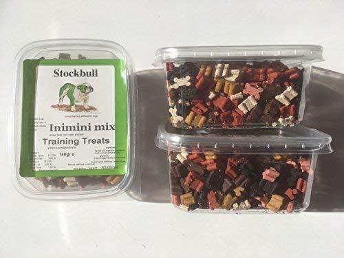stockbull inimini MIX ADDESTRAMENTO SNACK - (3 x 140g Vasche) CUCCIOLO/piccolo cane