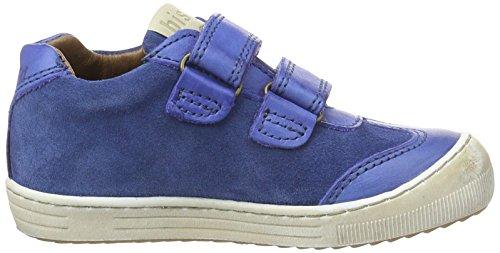 Bisgaard Unisexo Crianças Mar 603 alto Velcro Tex Sapatos Azul Baixo 3 rCr5wqfx
