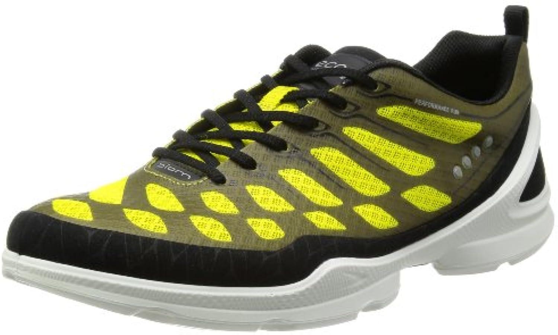 Ecco - Zapatillas de running para hombre Amarillo amarillo