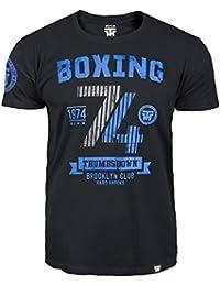 Boxing T-shirt. Thumbs Down Boxing Club. Brooklyn Club. Hard Knocks. Heavyweight Champion. Mixed Martial Arts. MMA T-shirt