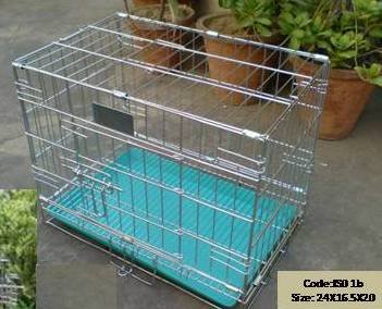 Birds' Park Steel Dog Cage Small 18