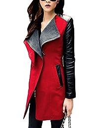 Slim Abrigo Trenca Mujer Elegante Gabardina Chaqueta Abrigos Jacket Outwear