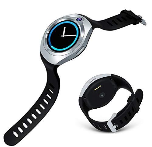 Love Life Motion & Fitness Smart Uhr Herzfrequenz Musik- und GPS-Ortung Mit 5 Millionen HD-Kameras,Silver