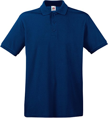 Fruit of the Loom Herren Poloshirt Navy