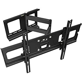 Ricoo Support Tv Mural Orientable Inclinable R05 Meuble Téléviseur Suspendu Pc Plasma Smart Oled Incurvé Fixation Murale Télé Led Lcd 3d 4k Max Vesa