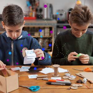 SAM Labs Science Museum Inventor Kit – Learn & Invent with this STEM Starter Kit – Build and Program inventions