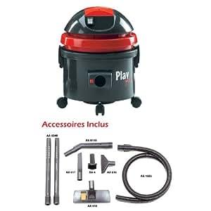 aspirateur poussi re yes play 22 l 1300w accessoires cuisine maison. Black Bedroom Furniture Sets. Home Design Ideas