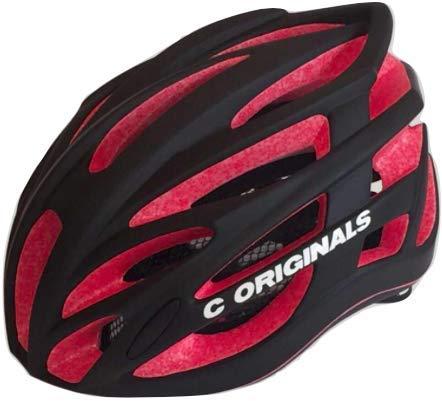 C ORIGINALS Road Series Fahrradhelm CE 10X Colors (M380 RED-MATT Black)