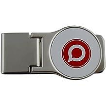 Metal dinero clip con Gnu social status. Red Badge. Ver gnu. Org S social para empezar con la federados Red Social.
