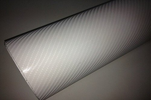 SPA Gray : 300mmX1520mm Waterproof DIY Car Sticker Car Styling 4D Thicken 3M Car Carbon Fiber Vinyl Wrapping Film With Retail Packaging