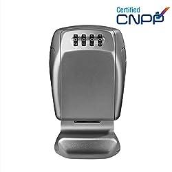 MASTER LOCK Schlüsseltresor [Extra Sicherheit] [Wandhalterung] - 5415EURD - Schlüsselsafe