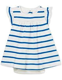 Petit Bateau Lot X3 Bod, Body Bébé fille, Bleu (Cool/Marshmallow 01), 74 (Taille fabricant: 12M)
