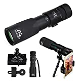 Mosodo Crystal Clear 8-24X40 Dual Focus Optics Monocular Telescope │Green FMC Lens