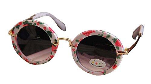 Shivering schöne Kinder Sonnenbrille Runde Sonnenbrille