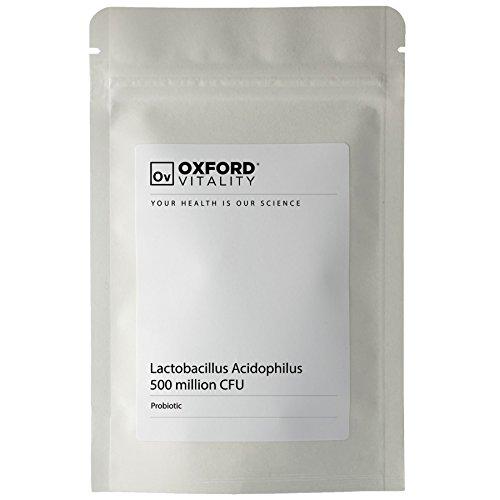Acidophilus 60 Tabletten (Oxford Vitality - Acidophilus Lactobacillus 500 CFU Tabletten)