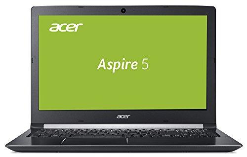 Acer Aspire 5 (A515-51G-54FD) 39,6 cm (15,6 Zoll, Full-HD, IPS, matt) Multimedia Notebook (Intel Core i5-7200U, 8 GB RAM, 128GB SSD + 1000GB HDD, NVIDIA GeForce MX150, Win 10) schwarz