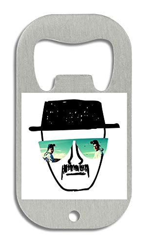LukeTee Heisenberg Drawn Glasses T-Shirt Flaschenöffner