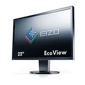 Eizo FlexScan EV2216W-FSBK Ecran PC LED 22'' (55,9 cm) 1680x1051 5 ms Display Port/DVI-D24 Broches