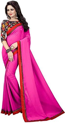 Indischen Lady Kostüm - Indian bollywood wedding saree indisch Ethnic hochzeit sari new kleid damen casual tuch birthday crop top mädchen georgette women plain traditional party wear readymade Kostüm