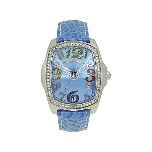 Chronotech orologio analogico quarzo donna con cinturino in pelle ct7896ls-61