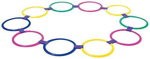 Knorrtoys 56001 - Jump in the circle - Hüpfringe 10 - Ringe Stimmung Kinder