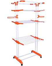 Bathla Mobidry Giga - Extra-Large 4 Level Modular Cloth Drying Stand with Weather Resistant Frame