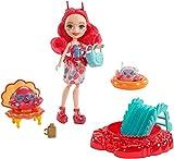 Enchantimals Muñeca Mundo Acuático Cameo Crab con accesorios (Mattel FKV60)