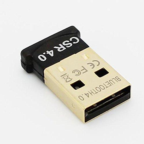 Sans fil USB V4.0 Bluetooth Adaptateur Dongle Musique Récepteur Émetteur pour Ordinateur PC Portable Carré