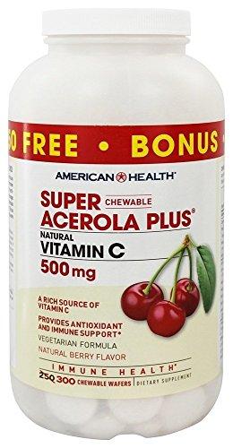 American Health - Acerola eccellente più il magnesio naturale di
